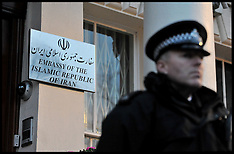Iranian Embassy in London Closed