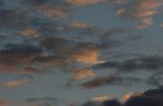 Evening sky, summer