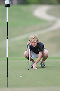 Oxford High golfer Guy Cameron Billips at Oxford Country Club on Thursday, April 8, 2010.