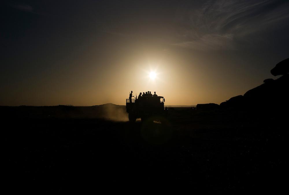Western sahara/Tifariti 2016-10-22<br /> Polisario troops in Tifariti