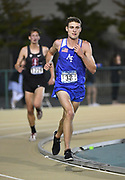 Nathan Thomas (38) of Air Force runs  in the 800m during the NCAA West Track & Field Preliminary, Thursday, May 25, 2019, in Sacramento, Calif.