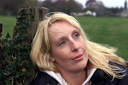 Jane Gunson from Moulton Newmarket, Suffolk. Jane, had a lung removed as a result of suffering from TB, November 18, 2000..Photo by Andrew Parsons/i-Images..
