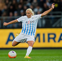 05.10.2016, Merkur Arena, Graz, AUT, UEFA CL, Damen, SK Sturm Graz Damen vs FC Zuerich Frauen, Sechzehntelfinale, Hinspiel, im Bild Adriana Kristina Leon (Zuerich) // during the UEFA Womens Championsleague, round of 32, 1st Leg match between SK Sturm Graz Women and FC Zuerich Women at the Merkur Arena, Graz, Austria on 2016/10/05, EXPA Pictures © 2016, PhotoCredit: EXPA/ Dominik Angerer