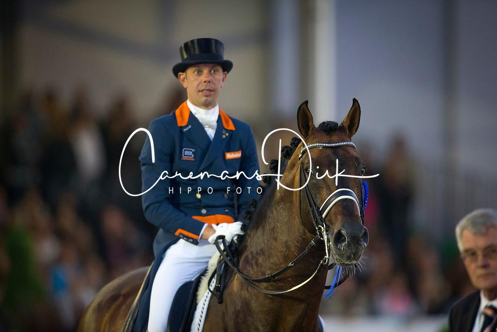 Minderhoud Hans Peter (NED) <br /> CDIO5 Grand Prix Freestyle <br /> CHIO Rotterdam 2014<br /> © Dirk Caremans