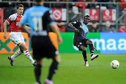 03-04-2010 VOETBAL: AZ - FC UTRECHT: ALKMAAR<br /> FC utrecht verliest met 2-0 van AZ / Nana Asare<br /> ©2009-WWW.FOTOHOOGENDOORN.NL