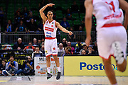 Jean Salumu of Pallacanestro Varese   Esultanza<br /> Openjobmetis Varese - Vanoli Cremona<br /> Postemobile Final Eight 2019 Zurich Connect<br /> Basket Serie A LBA 2018/2019<br /> FIRENZE, ITALY - 14 February 2019<br /> Foto Mattia Ozbot / Ciamillo-Castoria