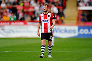 Jake Taylor (25) of Exeter City during the EFL Sky Bet League 2 match between Exeter City and Lincoln City at St James' Park, Exeter, England on 19 August 2017. Photo by Graham Hunt.