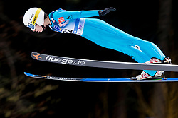 Julia Clair from France during Qualification Round at Day 2 of FIS Ski Jumping World Cup Ladies Ljubno 2018, on January 27, 2018 in Ljubno ob Savinji, Slovenia. Photo by Urban Urbanc / Sportida