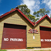 Bush fire brigade at Central Tilba on NSW southern coast