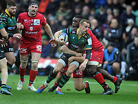 Rugby Union - 2019 / 2020 European Rugby Heineken Champions Cup - Pool One: Northampton Saints vs. Lyon<br /> <br /> Rory Hutchinson of Northampton, at Franklin's Gardens.<br /> <br /> COLORSPORT/ANDREW COWIE