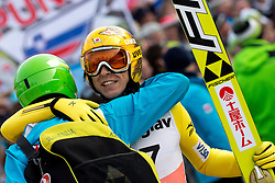 KASAI Noriaki of Japan and KRANJEC Robert of Slovenia during Large Hill Individual Competition at 2nd day of FIS Ski Jumping World Cup Finals Planica 2014, on March 21, 2014 in Planica, Slovenia. Photo by Matic Klansek Velej/ Sportida