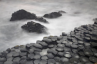 Giant's Causeway basalt landscape Northern Ireland, Unesco Heritage site