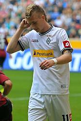 24.09.2011,  BorussiaPark, Mönchengladbach, GER, 1.FBL, Borussia Mönchengladbach vs 1. FC Nuernberg, im Bild.Marco Reuss (Mönchengladbach #11) nach seiner vergebenen Chance entaeuscht / entäuscht / traurig..// during the 1.FBL, Borussia Mönchengladbach vs 1. FC Kaiserslautern on 2011/09/24, BorussiaPark, Mönchengladbach, Germany. EXPA Pictures © 2011, PhotoCredit: EXPA/ nph/  Mueller *** Local Caption ***       ****** out of GER / CRO  / BEL ******