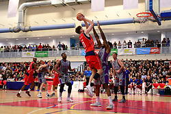 Michael Vigor of Bristol Flyers - Photo mandatory by-line: Dougie Allward/JMP - 01/04/2017 - BASKETBALL - SGS Wise Arena - Bristol, England - Bristol Flyers v Leeds Force - British Basketball League
