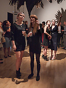 NATASHA MITCHELL; POLLY URQUHART, Private view and Summer party to celebrate Haunch of Venison's exhibition. Joanna Vasconcelos; I will Survive and Polly Morgan: Psychopomps. Dover st. arts Club. 20 July 2010. -DO NOT ARCHIVE-© Copyright Photograph by Dafydd Jones. 248 Clapham Rd. London SW9 0PZ. Tel 0207 820 0771. www.dafjones.com.
