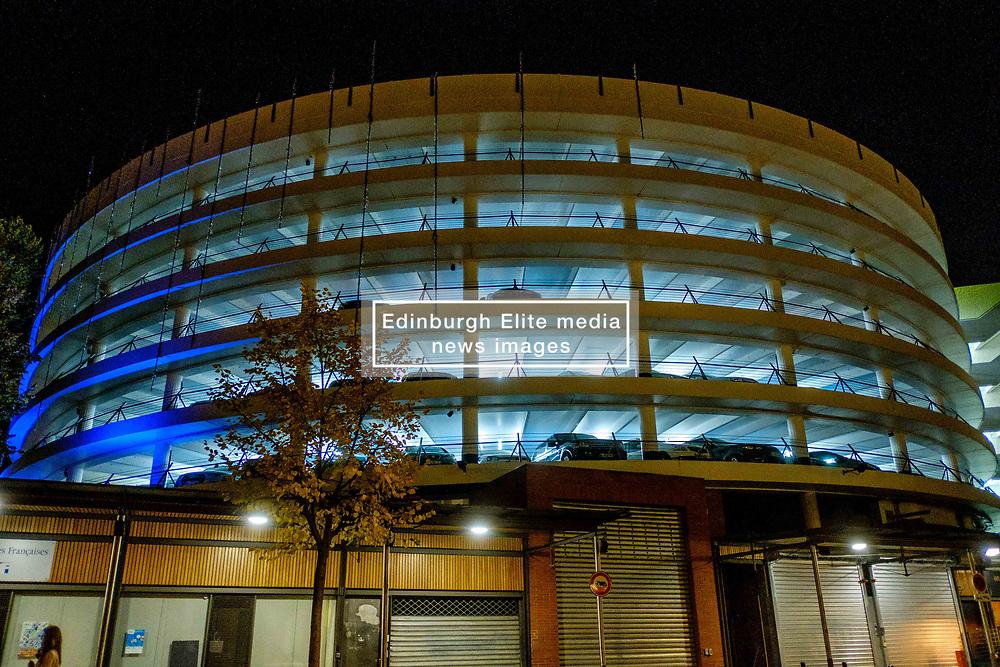 The multi-storey car park in the Place des Carmes, Toulouse, France<br /> <br /> (c) Andrew Wilson   Edinburgh Elite media