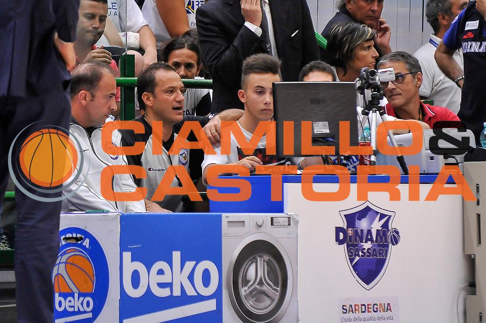 DESCRIZIONE : Campionato 2014/15 Serie A Beko Dinamo Banco di Sardegna Sassari - Grissin Bon Reggio Emilia Finale Playoff Gara6<br /> GIOCATORE : Tolga Sahin<br /> CATEGORIA : Instant Replay Arbitro Referee<br /> SQUADRA : AIAP<br /> EVENTO : LegaBasket Serie A Beko 2014/2015<br /> GARA : Dinamo Banco di Sardegna Sassari - Grissin Bon Reggio Emilia Finale Playoff Gara6<br /> DATA : 24/06/2015<br /> SPORT : Pallacanestro <br /> AUTORE : Agenzia Ciamillo-Castoria/C.Atzori