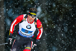 March 16, 2019 - –Stersund, Sweden - 190316 Julian Eberhard of Austria competes in the Men's 4x7,5 km Relay during the IBU World Championships Biathlon on March 16, 2019 in Östersund..Photo: Johan Axelsson / BILDBYRÃ…N / Cop 245 (Credit Image: © Johan Axelsson/Bildbyran via ZUMA Press)