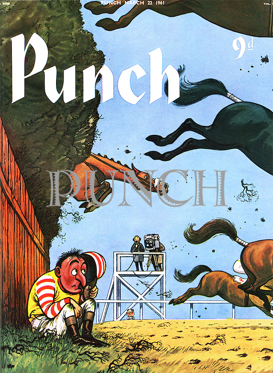 Punch (Front cover, 22 March 1961)
