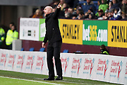 Burnley manager Sean Dyche  during the The FA Cup match between Burnley and Norwich City at Turf Moor, Burnley, England on 25 January 2020.