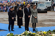 Duke and Duchess of Cambridge pay tribute to victims of helicopter crash - 28 Nov 2018