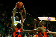 WACO, TX - JANUARY 3: Taurean Prince #35 of the Baylor Bears shoots the ball against the Savannah State Tigers on January 3, 2014 at the Ferrell Center in Waco, Texas.  (Photo by Cooper Neill) *** Local Caption *** Taurean Prince
