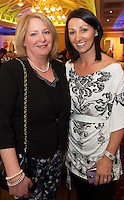Patricia Fordham Ballinderreen and Siobhan O 'Sullivan Ardrahan at A Vintage and Pre-Loved Fashion Extravaganza held in the Lady Gregory Hotel in Gort . A fundraising event organised by the Parents Council for Seamount's new pitch.  Photo:Andrew Downes