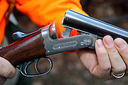W.J. Jeffery Double Barreled Shotgun