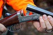 W.J. Jeffery Double Barreled Shotgun