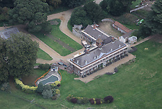 OCT 06 2013 Aerial Views of Anmer Hall in Anmer