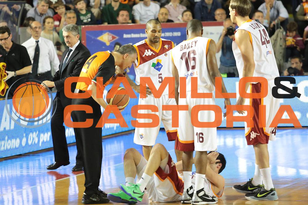 DESCRIZIONE : Roma Lega A 2012-2013 Acea Roma Lenovo Cantu playoff semifinale gara 2<br /> GIOCATORE : Lorenzo D'Ercole<br /> CATEGORIA : curiosita<br /> SQUADRA : Acea Roma<br /> EVENTO : Campionato Lega A 2012-2013 playoff semifinale gara 2<br /> GARA : Acea Roma Lenovo Cantu<br /> DATA : 27/05/2013<br /> SPORT : Pallacanestro <br /> AUTORE : Agenzia Ciamillo-Castoria/M.Simoni<br /> Galleria : Lega Basket A 2012-2013  <br /> Fotonotizia : Roma Lega A 2012-2013 Acea Roma Lenovo Cantu playoff semifinale gara 2<br /> Predefinita :