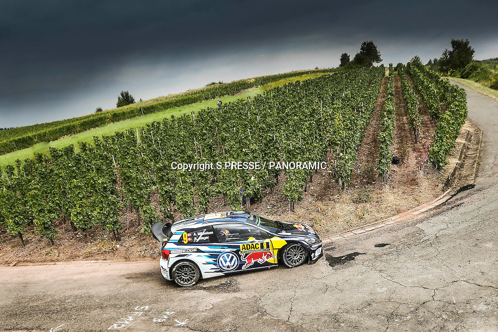 Andreas Mikkelsen (NOR)  /Jaeger Synnevag(NOR)-Volkswagen Polo WRC