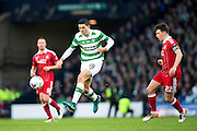 Celtic midfielder Tomas Rogic (#18) in action during the Scottish Cup final match between Aberdeen and Celtic at Hampden Park, Glasgow, United Kingdom on 27 November 2016. Photo by Craig Doyle.