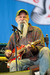 Seasick Steve play the main stage, at T in the Park 2015, at Strathallan Castle. Saturday, 11th July 2015, day two at T in the Park 2015, at its new home at Strathallan Castle.