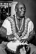 Lead African Drum performer at the July Winston-Salem Gallery Hop