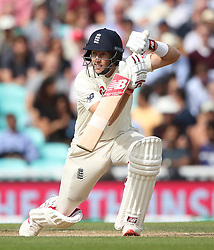 England's Joe Root during the test match at The Kia Oval, London.