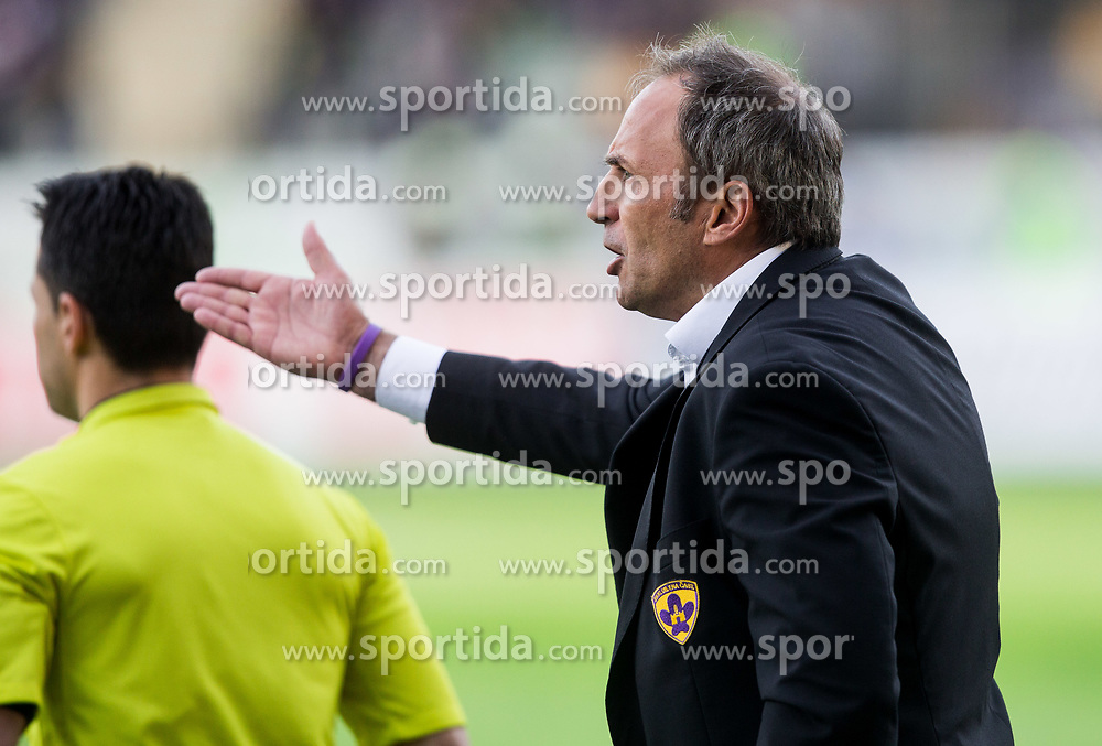 Darko Milanic, head coach of Maribor during 2nd Leg football match between NK Maribor and NK Olimpija Ljubljana in Semifinal of Slovenian Football Cup 2016/17, on April 12, 2017 in Stadium Ljudski vrt, Maribor, Slovenia. Photo by Vid Ponikvar / Sportida