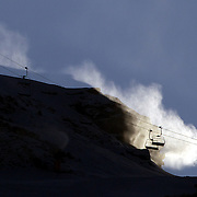 Coronet Peak Snow Making, Queenstown