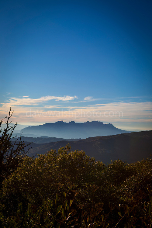 "View of Montserrat, La Mola, a mountain in the park of Sant Llorenç del Munt i l'Obac - La Mola, Mountain, Barcelona, Catalonia, Spain This mage can be licensed via Millennium Images. Contact me for more details, or email mail@milim.com For prints, contact me, or click ""add to cart"" to some standard print options."