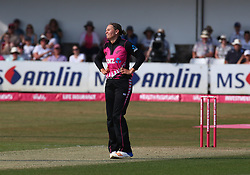 July 1, 2018 - London, Greater London, United Kingdom - during International Twenty20 Final match between England Women and New Zealand Women  at The Cloudfm County Ground, Chelmsford, England on 01 July 2018. (Credit Image: © Kieran Galvin/NurPhoto via ZUMA Press)