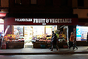 6 March 2013. Brooklyn, NY. Poland Farm fruitstore in Greenpoint. 3/6/2013. Photo by Gabrielle Sierra/CUNY Wire Service