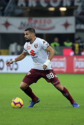 December 9, 2018 - Milan, Milan, Italy - Tomas Rincon #88 of Torino FC in action during the serie A match between AC Milan and Torino FC at Stadio Giuseppe Meazza on December 09, 2018 in Milan, Italy. (Credit Image: © Giuseppe Cottini/NurPhoto via ZUMA Press)