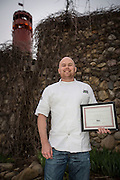 Chef Josh Adams Best New Chef in the Great Lakes Region.
