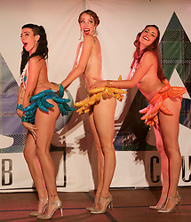 Burlesque dancers Die Gl'amouresque have been entertaining Fringe revellers at the Merchants Hall, Edinburgh. pic copyright Terry Murden @edinburghelitemedia