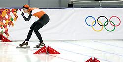 11-02-2014 SCHAATSEN: OLYMPIC GAMES: SOTSJI<br /> Margot Boer pakt brons op de 500 meter.  <br /> ©2014-FotoHoogendoorn.nl