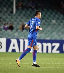 April 18, 2018 - Sydney, Sydney, China - Sydney, Australia-18th April 2018: Shanghai Shenhua Football Team competes with Sydney FC at 2018 AFC Champions League in Sydney, Australia, April 18th, 2018. (Credit Image: © SIPA Asia via ZUMA Wire)