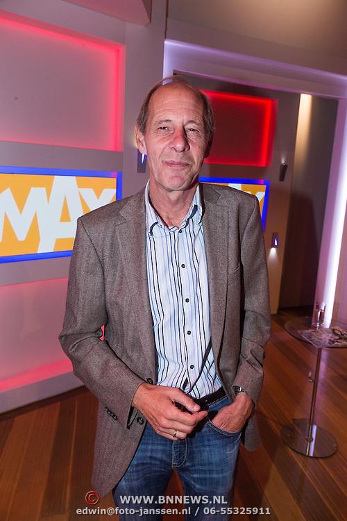 NLD/Hilversum/20130826 - najaarspresentatie 2013 omroep Max, Govert van Brakel