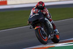 November 21, 2018 - Valencia, Spain - Marc Marquez (93) of Spain and Repsol Honda Team during the test of the new MotoGP season 2019 at Ricardo Tormo Circuit in Valencia, Spain on 21th Nov 2018  (Credit Image: © Jose Breton/NurPhoto via ZUMA Press)