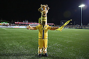 Sutton United mascot during the The FA Cup match between Sutton United and Arsenal at Gander Green Lane, Sutton, United Kingdom on 20 February 2017. Photo by Phil Duncan.