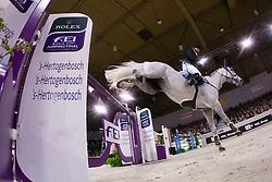 El Dahan Sameh (EGY) - Wkd Pepperpot<br /> Rolex FEI World Cup™ Jumping Final 2012<br /> 'S Hertogenbosch 2012<br /> © Dirk Caremans